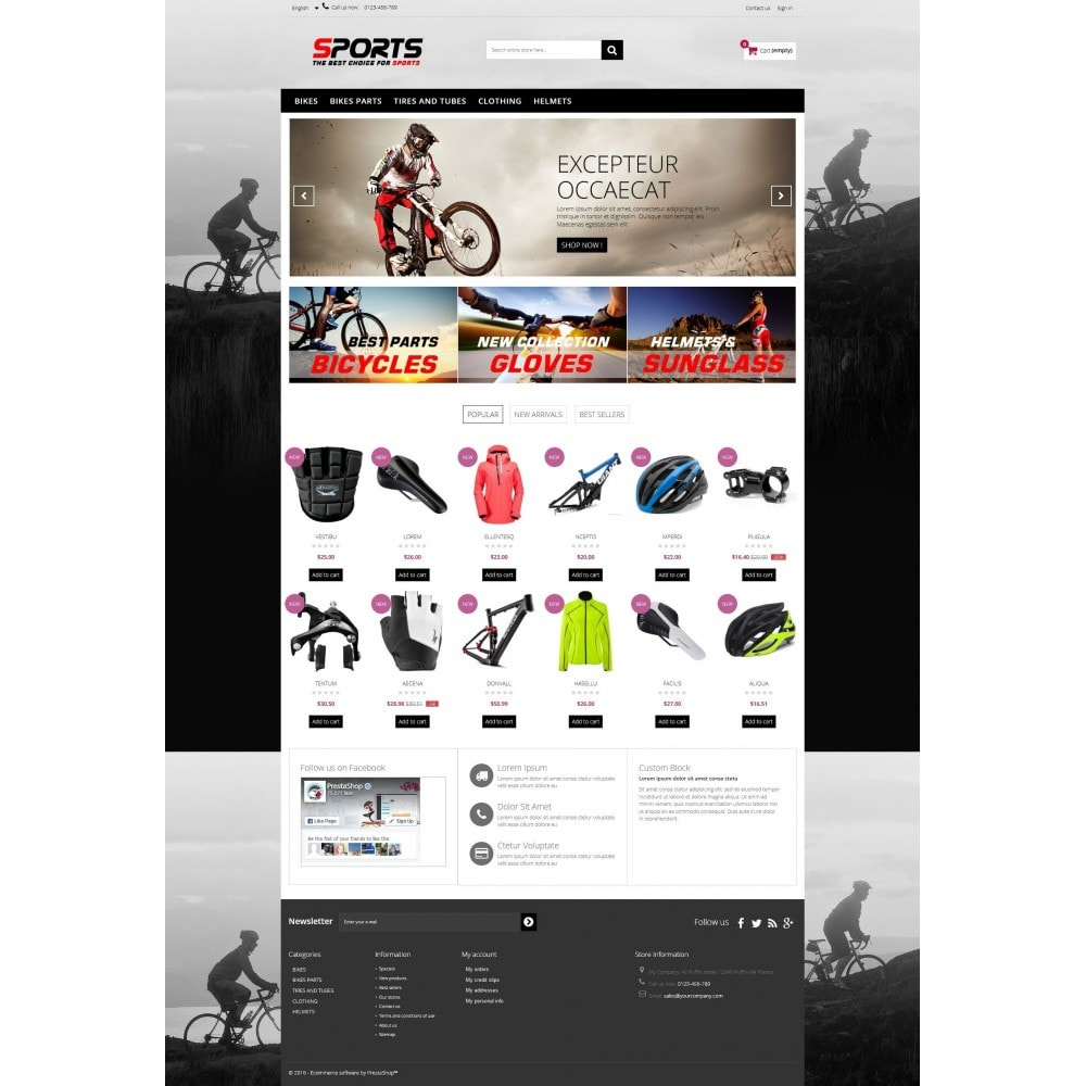 theme - Sport, Loisirs & Voyage - Sports Multipurpose HTML5 - 5