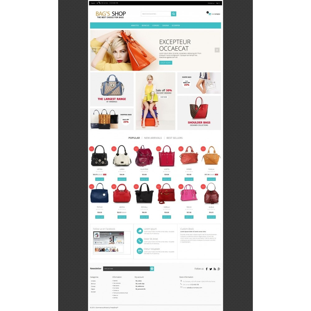 theme - Schmuck & Accesoires - Bags shop Multipurpose HTML5 - 6