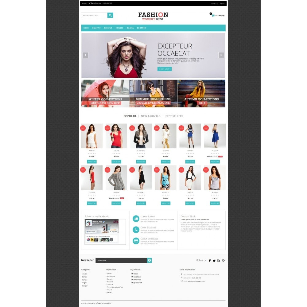 theme - Fashion & Shoes - Fashion Multipurpose HTML5 - 5