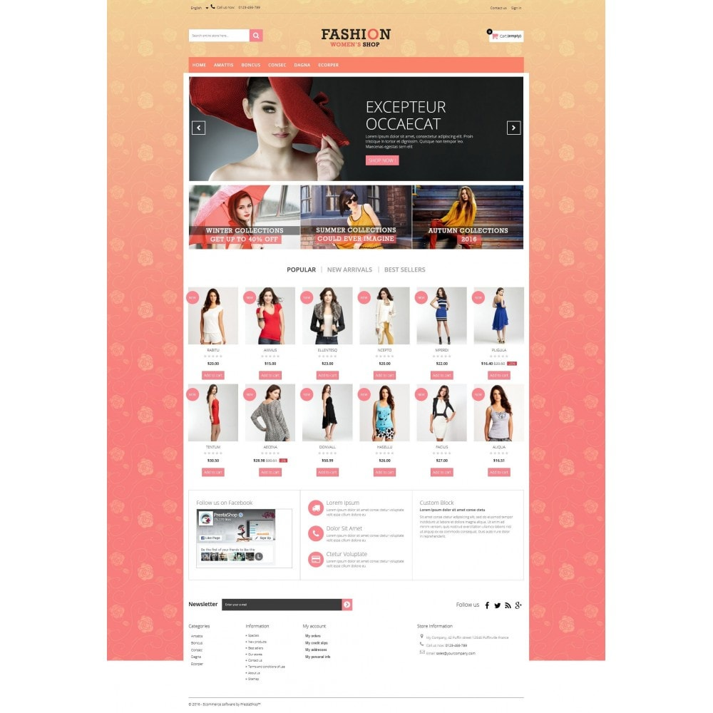 theme - Fashion & Shoes - Fashion Multipurpose HTML5 - 6