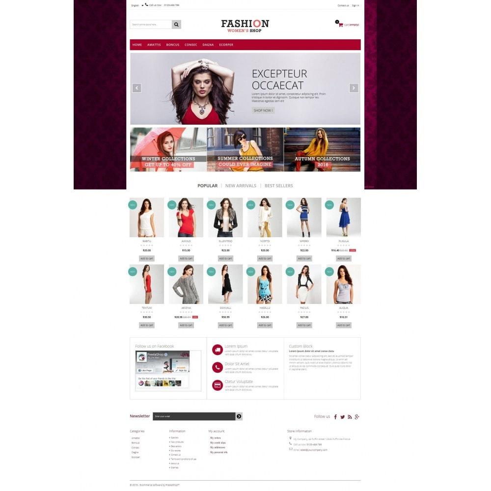 theme - Moda y Calzado - Fashion Multipurpose HTML5 - 7