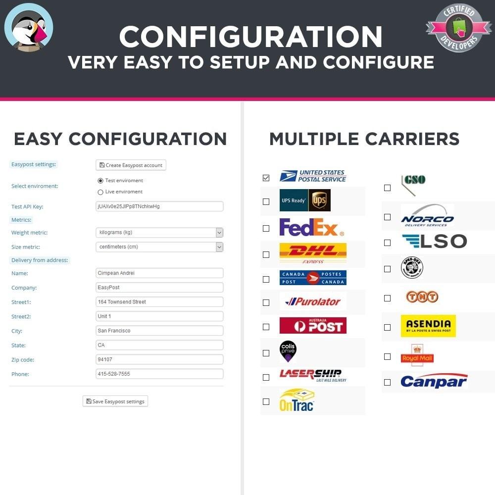 module - Preparación y Envíos - Easy Post Pro (DHL, GLS, DPD, Colissimo, RoyalMail etc) - 3