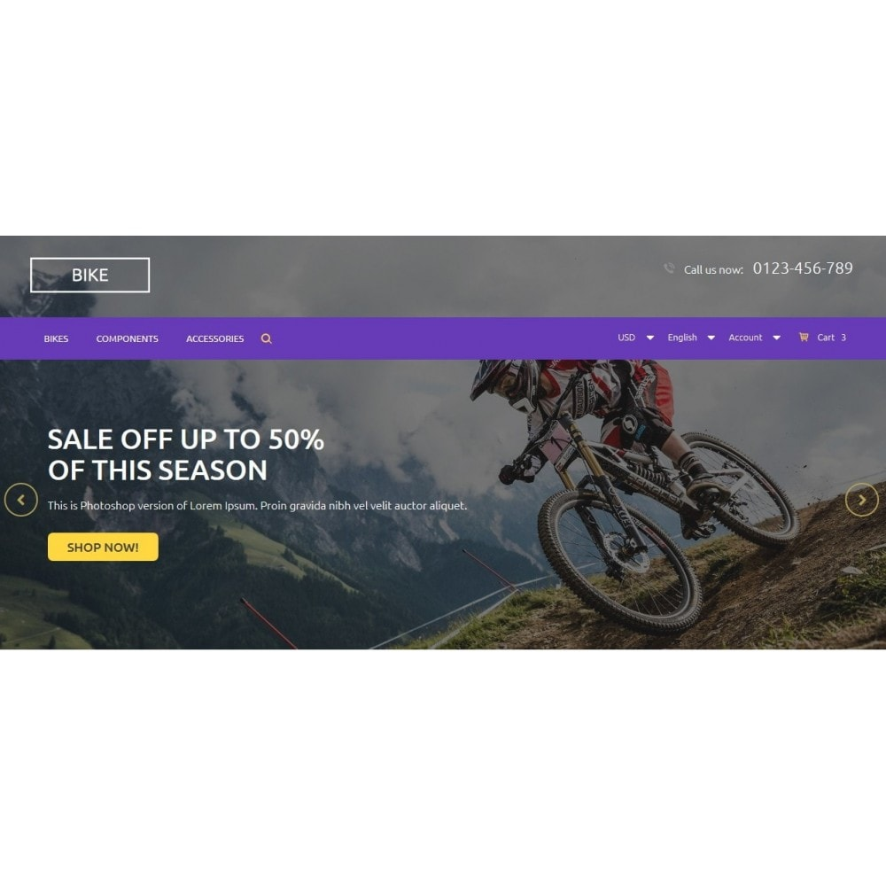 theme - Desporto, Actividades & Viagens - Bike Store - 3