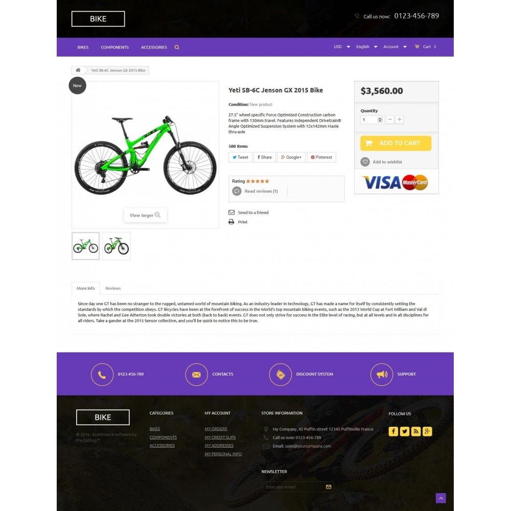 theme - Sport, Rozrywka & Podróże - Bike Store - 7
