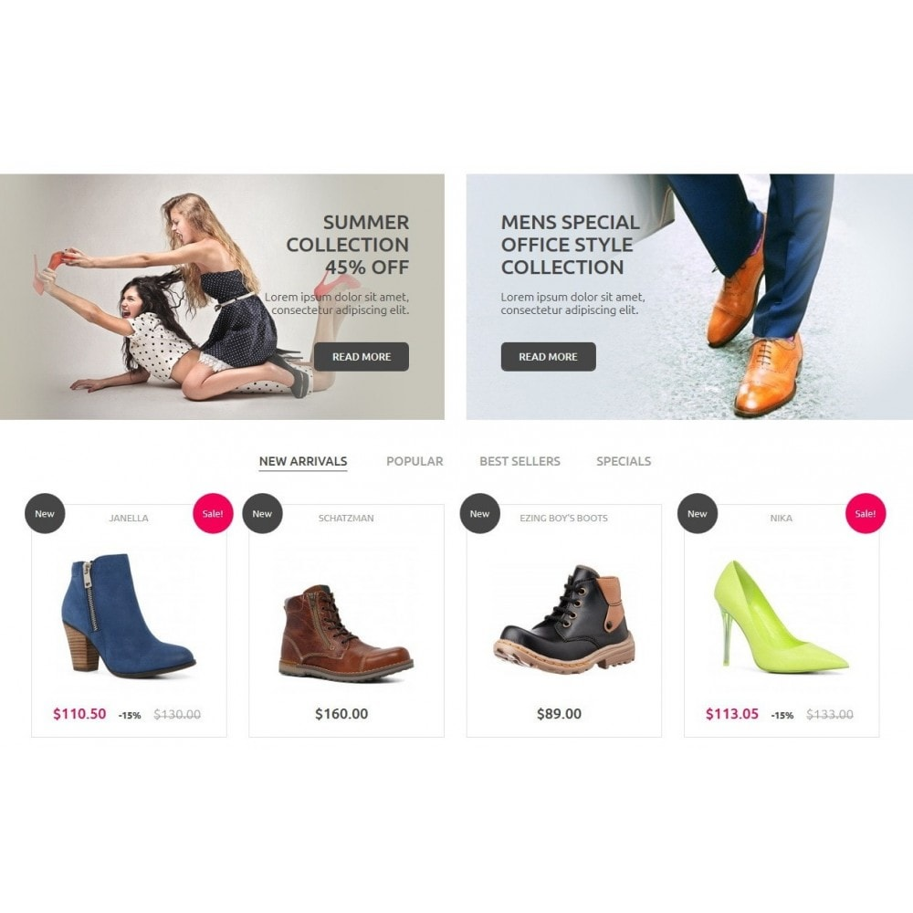 theme - Mode & Schuhe - Shoes Store 1.6 Responsive - 4