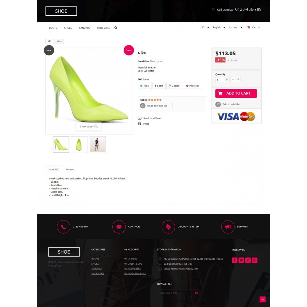 theme - Moda & Calzature - Shoes Store - 7