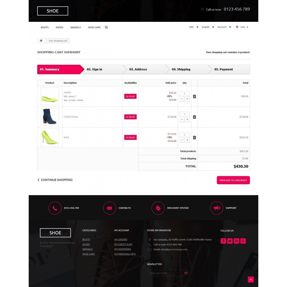 theme - Mode & Schuhe - Shoes Store 1.6 Responsive - 9