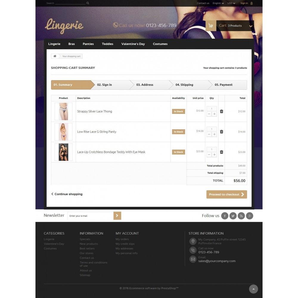 theme - Lingerie & Erwachsene - Lingerie Store 1.6 Responsive - 8