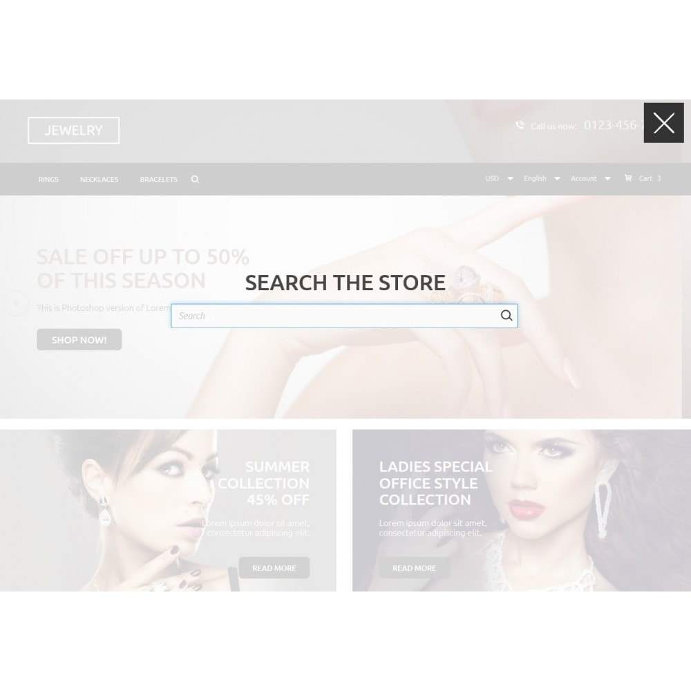 theme - Jewelry & Accessories - Jewelry Store 1.6 Responsive - 5