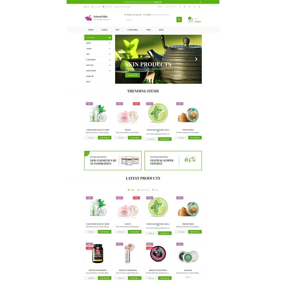 theme - Health & Beauty - Natural Skin Bio Responsive - 3
