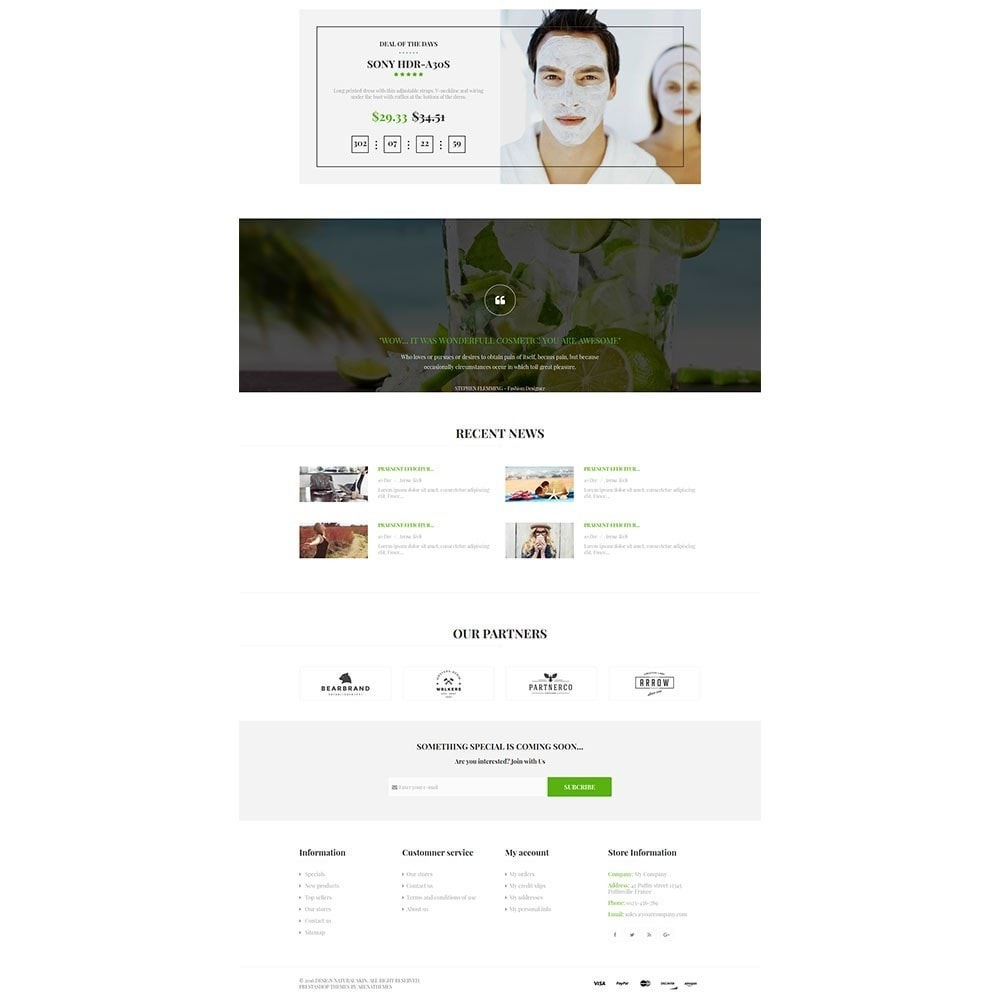 theme - Health & Beauty - Natural Skin Bio Responsive - 4