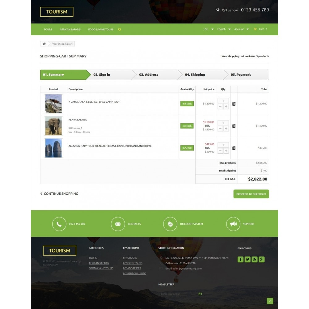 theme - Sports, Activities & Travel - Tourism 1.6 Responsive - 9