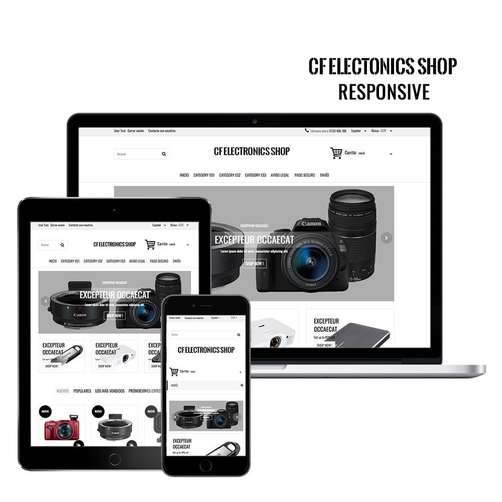 theme - Electronics & Computers - CF Electronics Shop - 1