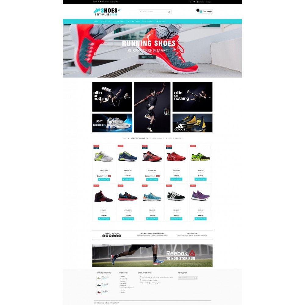 theme - Moda y Calzado - Shoes shop Multipurpose HTML5 - 2