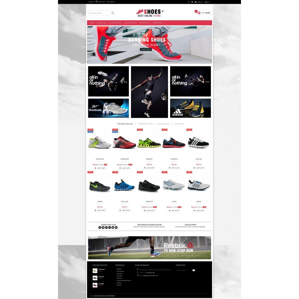 theme - Moda y Calzado - Shoes shop Multipurpose HTML5 - 4
