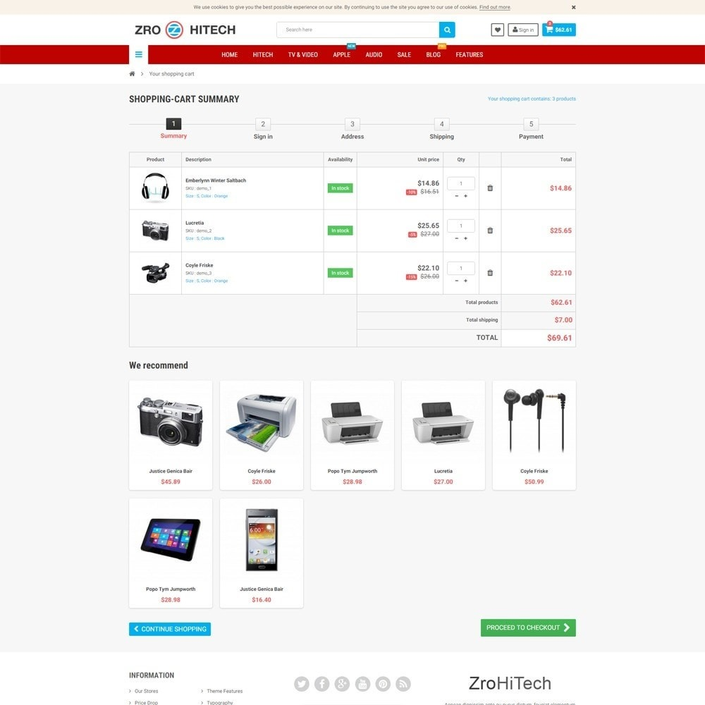 theme - Electronique & High Tech - Zro23 - Hitech - Electronics Online Store - 7