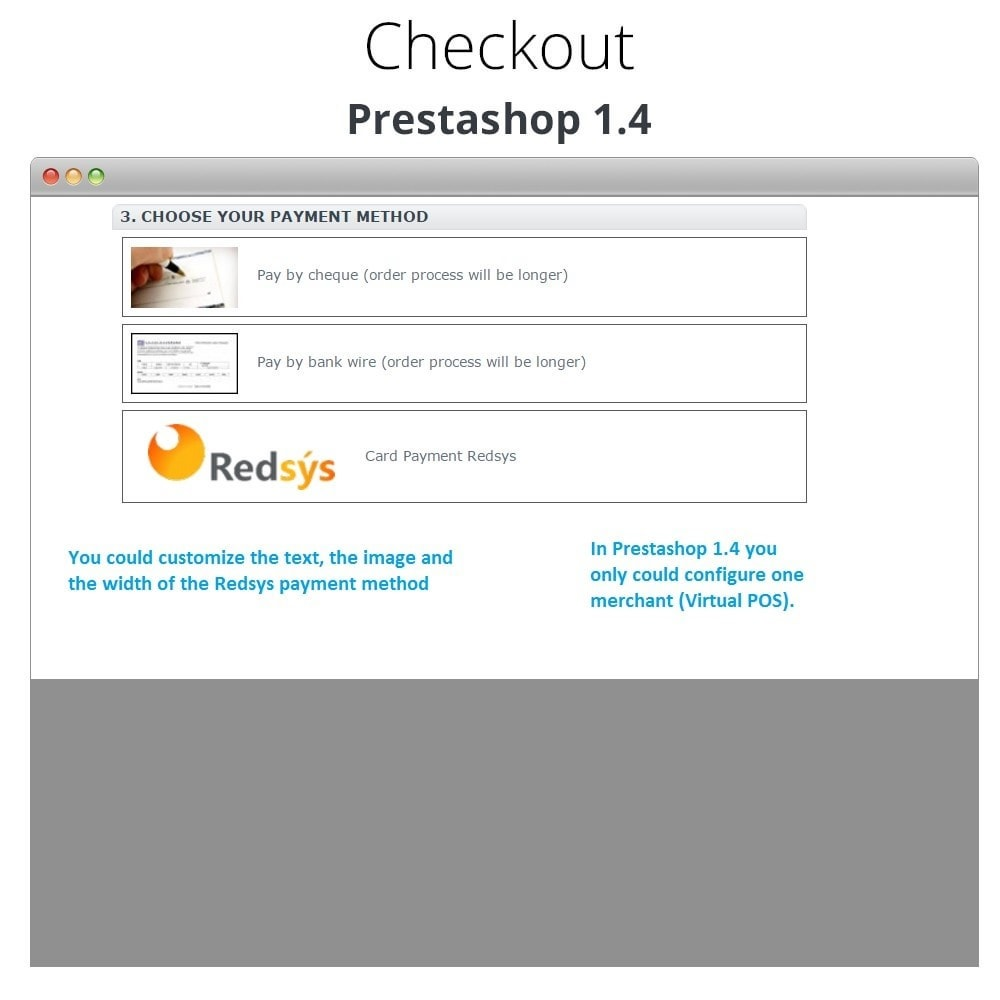 module - Creditcardbetaling of Walletbetaling - REDSYS POS Card Payment, Refunds and Click to Pay - 9
