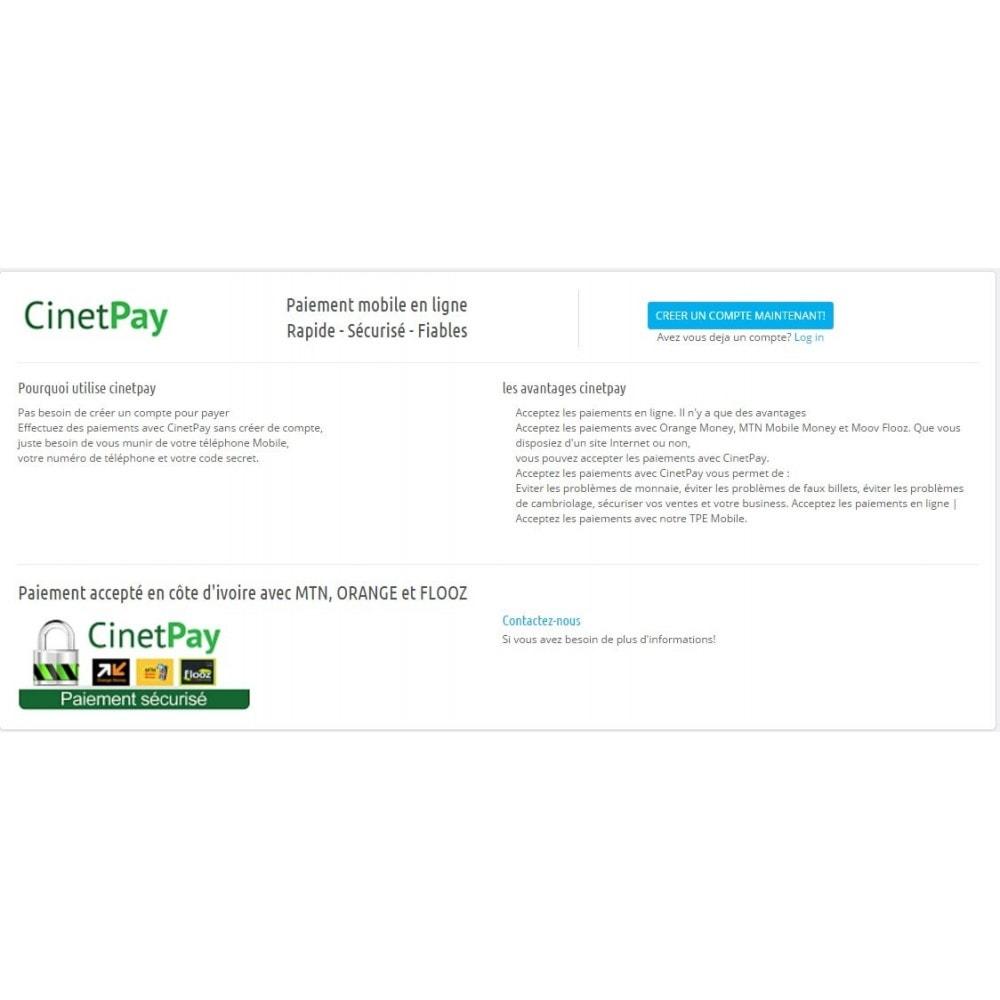 module - Paiement par Carte ou Wallet - CinetPay - 2