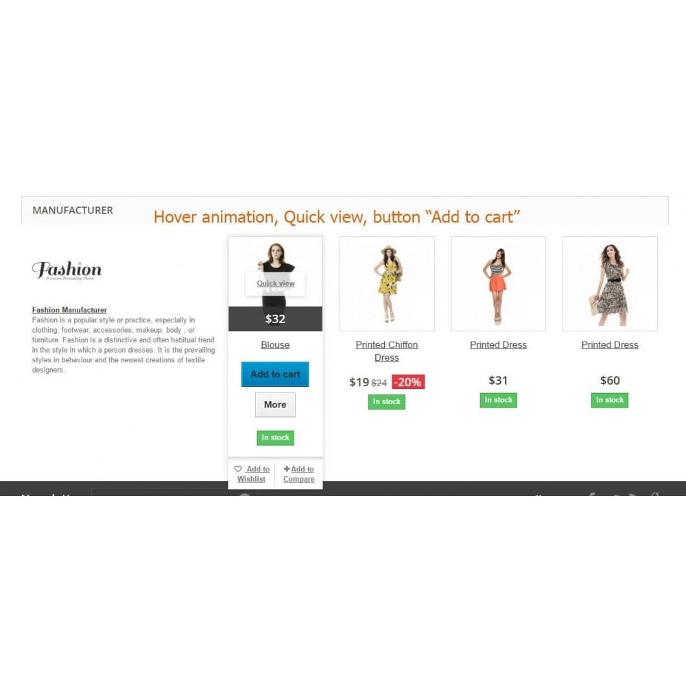 module - Marcas & Fabricantes - Manufacturer (Brand) and Supplier on product page - 5