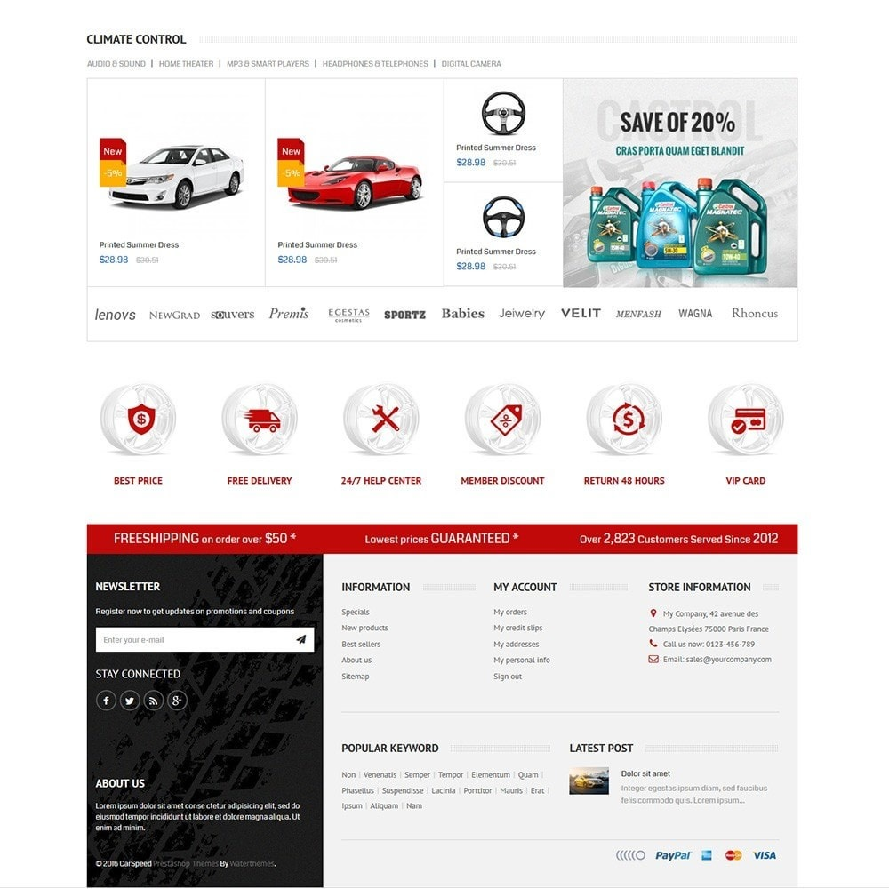 theme - Auto & Moto - Bike Moto And Car Sport Store - 3
