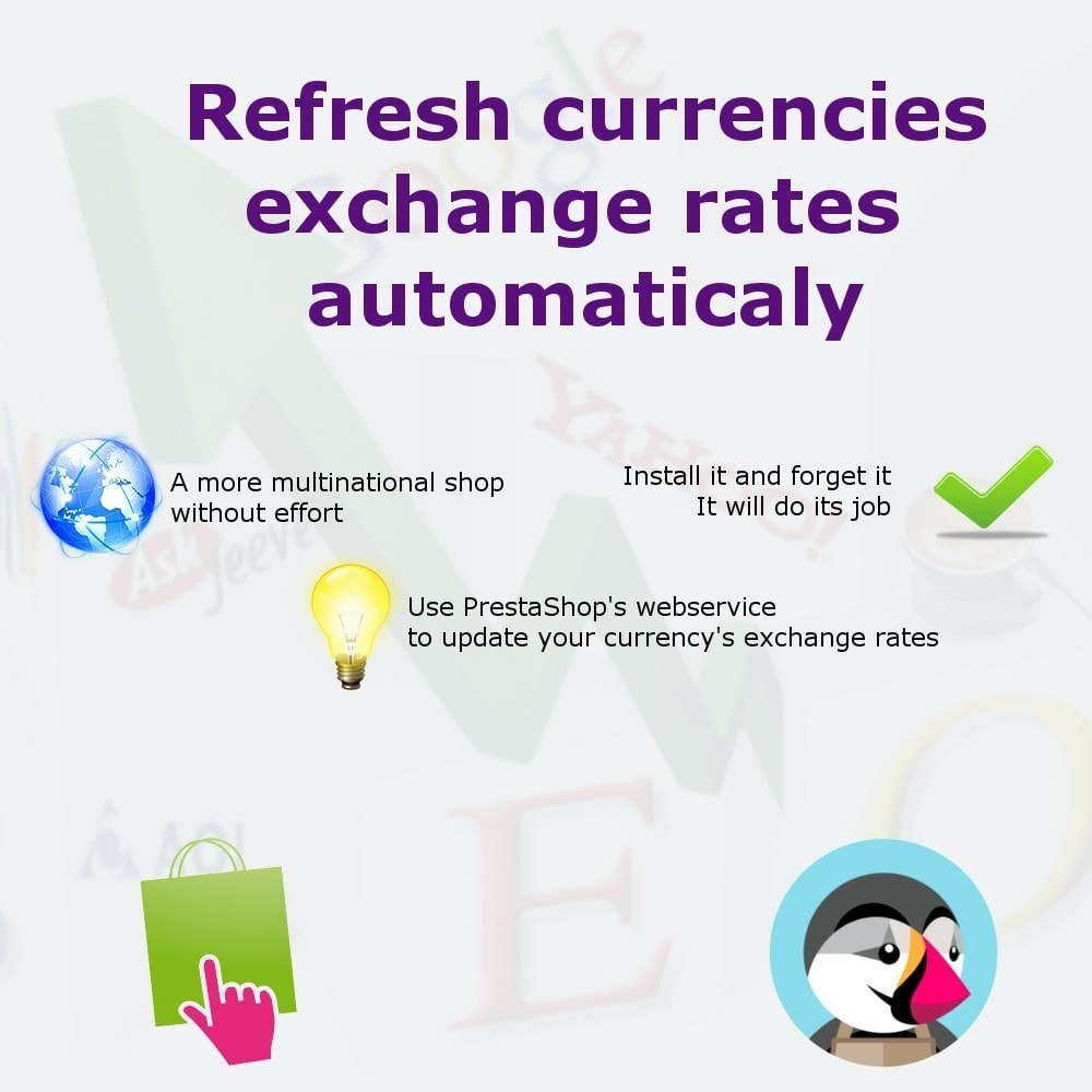 module - Gestión de Precios - Automatically refresh exchange rates - 1