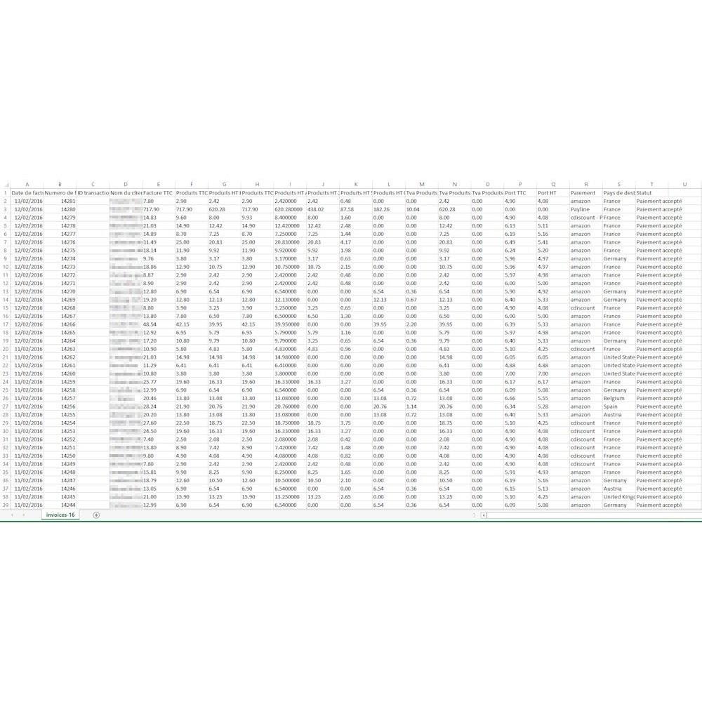 module - Księgowość & Fakturowania - SW Invoice Export - 3