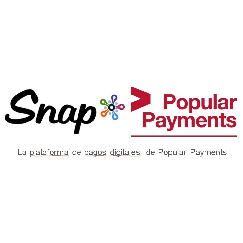 module - Pago con Tarjeta o Carteras digitales - TPV Virtual Snap* por Popular Payments - 1