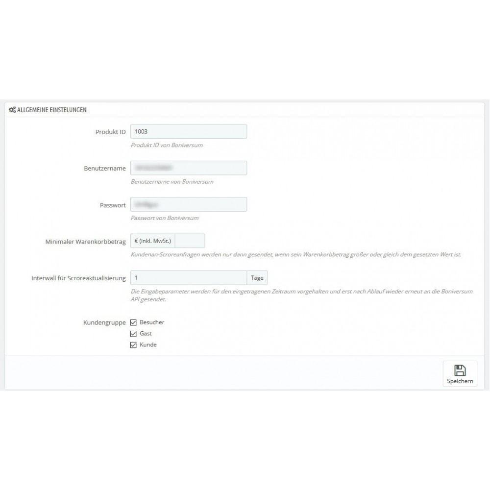 module - Payment by Invoice - Boniversum Credit assessments Connector - 3