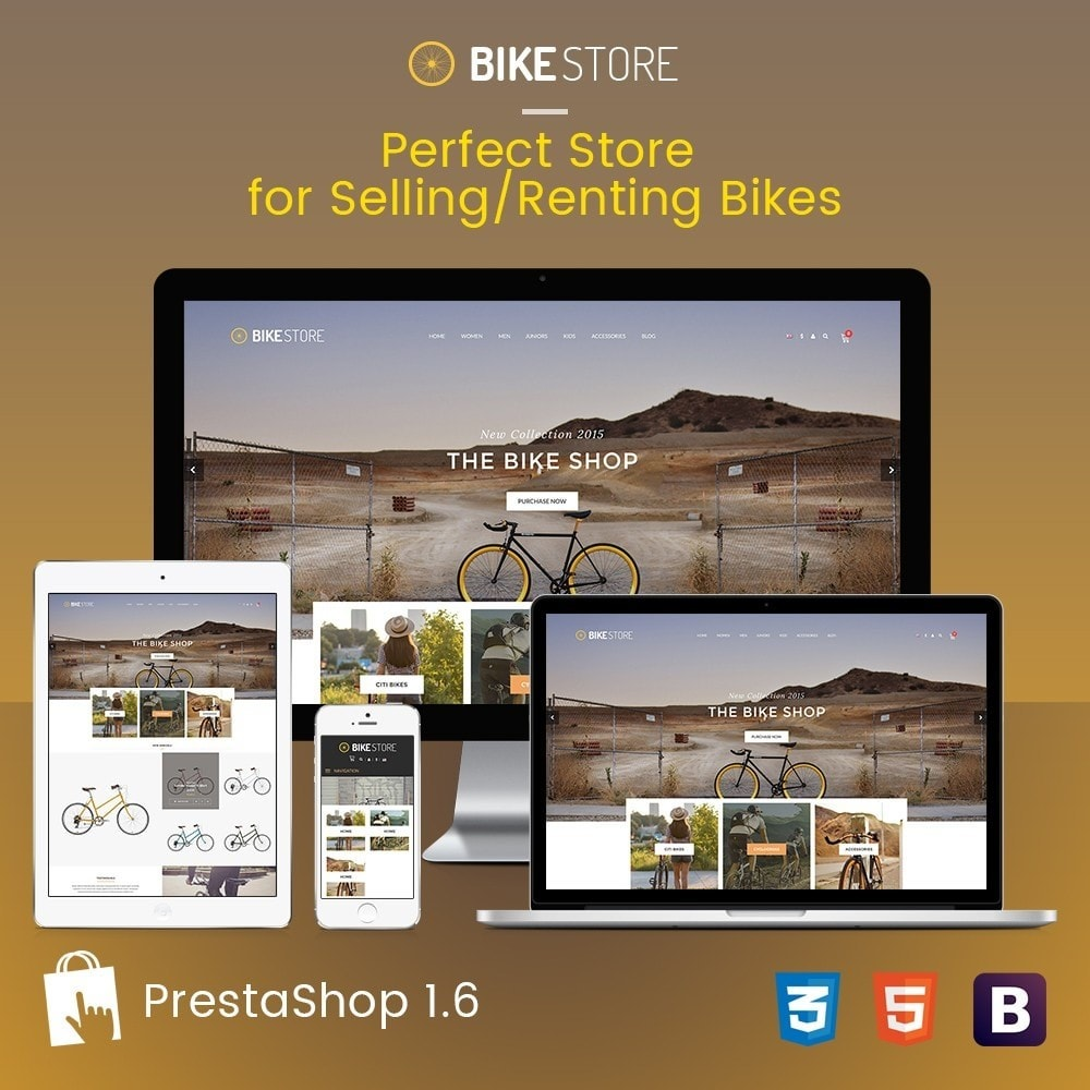 theme - Sport, Loisirs & Voyage - Bikes, Cycling Clothing & Bike Shoes Responsive Store - 2