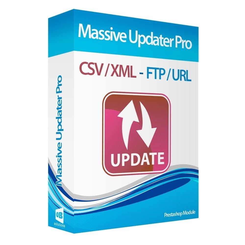 module - Importación y Exportación de datos - Actualizar datos CSV/XML vía URL/FTP cronjob compatible - 1