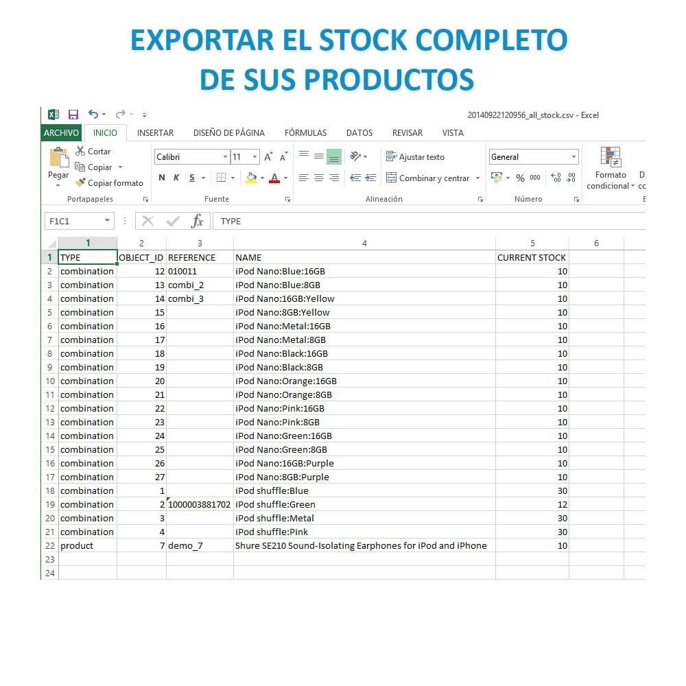 module - Importación y Exportación de datos - Actualizar datos CSV/XML vía URL/FTP cronjob compatible - 17