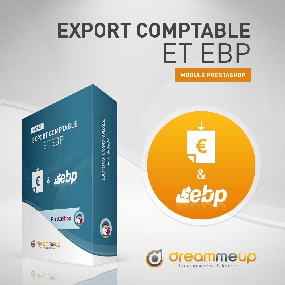 module - Connexion à un logiciel tiers (CRM, ERP...) - DMU Export Comptable CSV ou EBP - 1