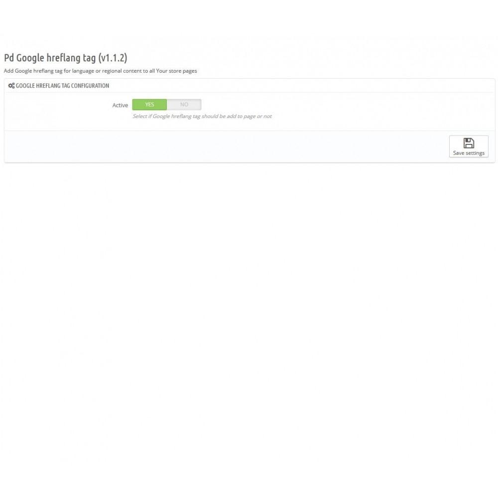 module - SEO (Pozycjonowanie naturalne) - Google Hreflang tag Pro - 3