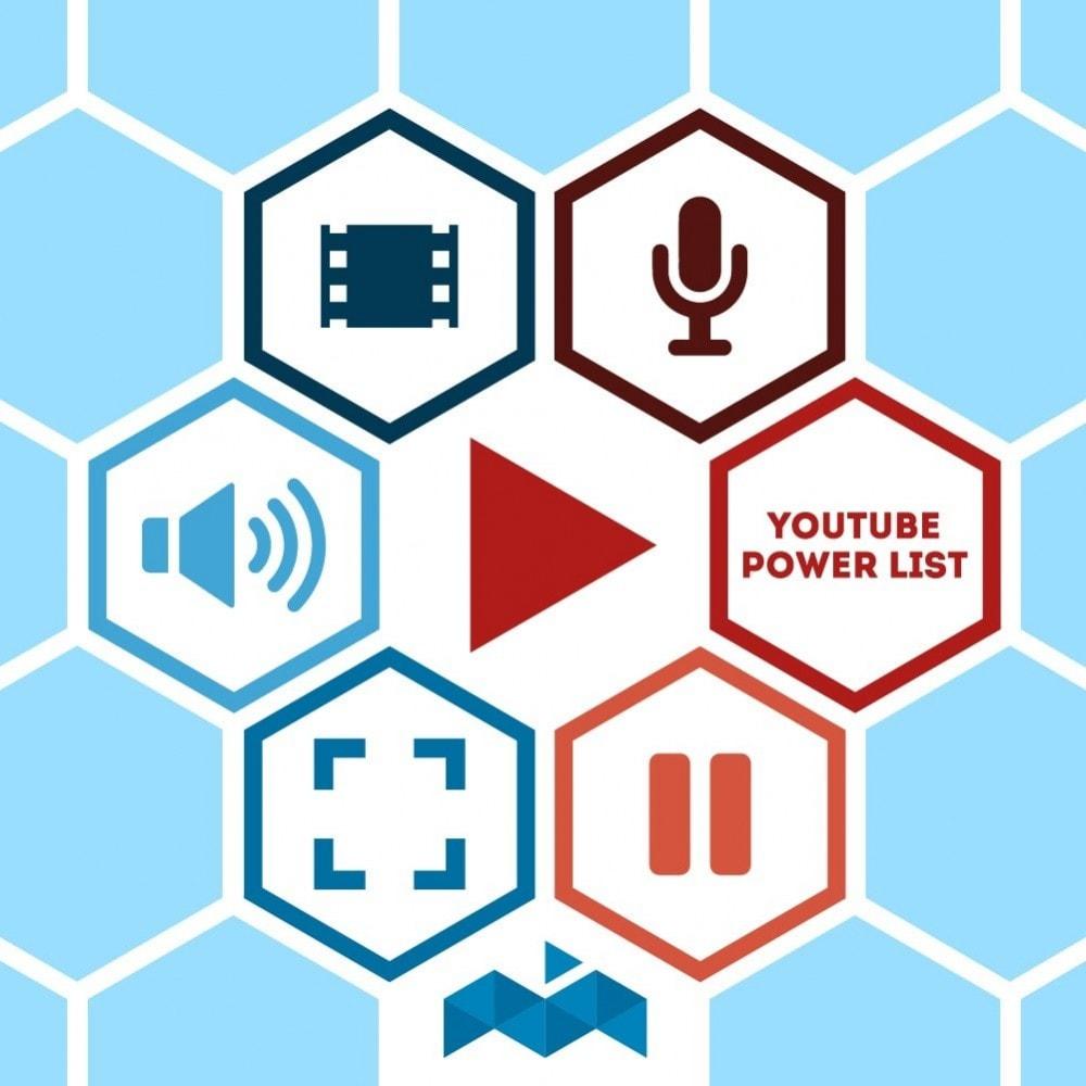 module - Vídeos y Música - Power List Videos Youtube - 1