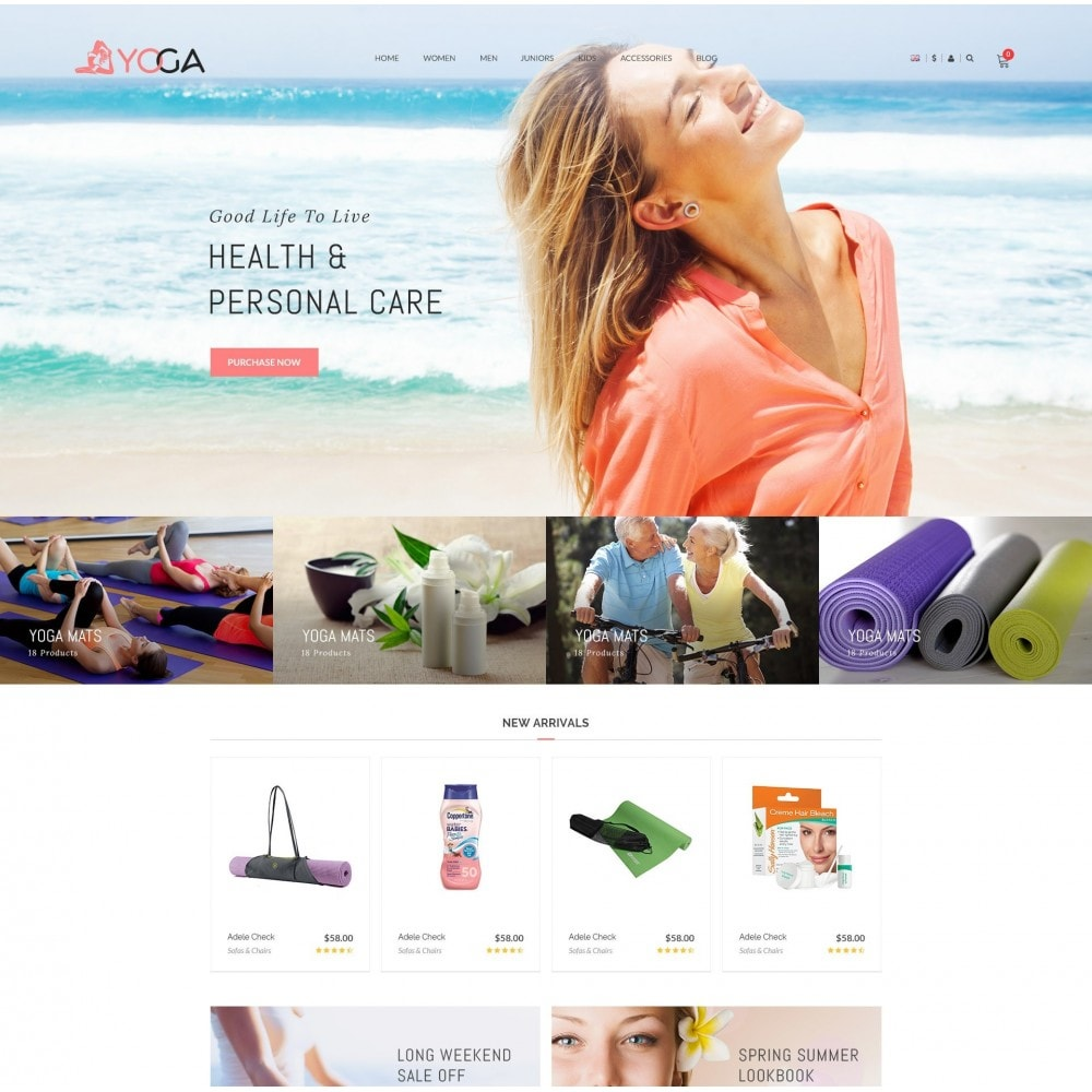 theme - Health & Beauty - Bio, Medical & Well-being Yoga Responsive Store - 2
