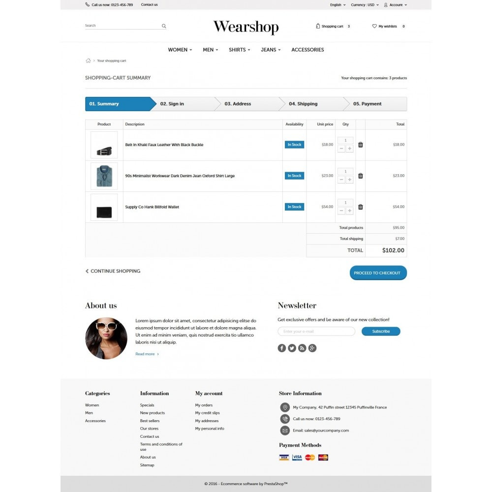 theme - Fashion & Shoes - Wearshop 1.6 Responsive - 8