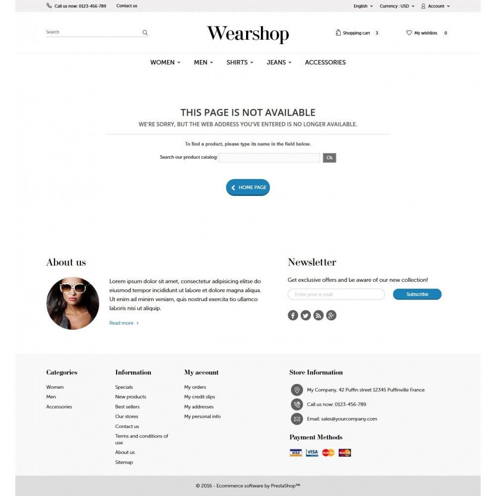 theme - Fashion & Shoes - Wearshop 1.6 Responsive - 9