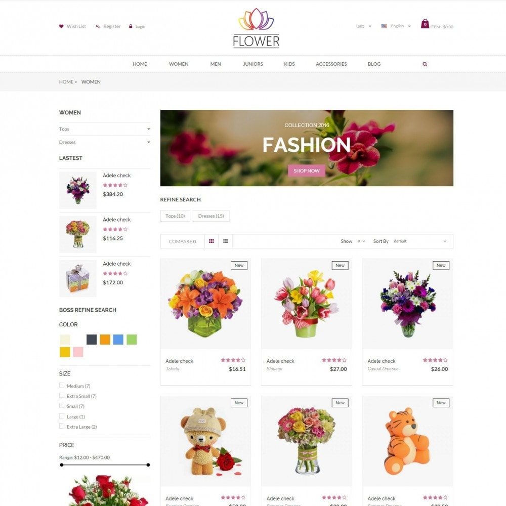 theme - Cadeaus, Bloemen & Gelegenheden - Celebrations Gift & Flower Responsvie Store - 3