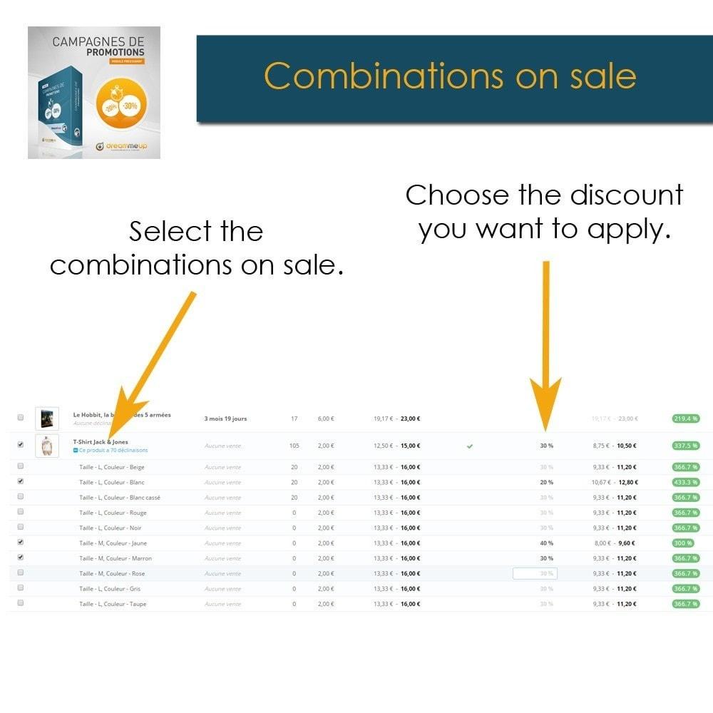 module - Promotion & Geschenke - DMU Discount campaigns - 4