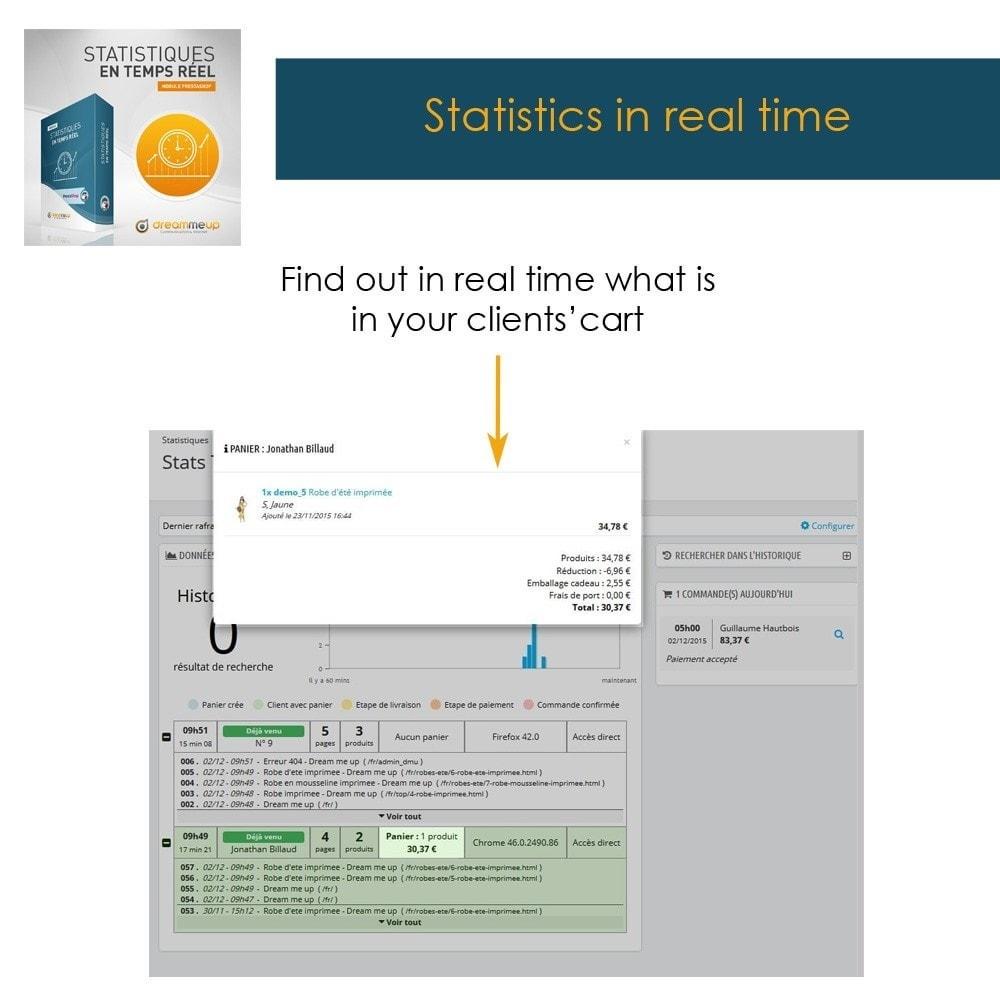 module - Analysen & Statistiken - DMU Real Time Statistics - 7