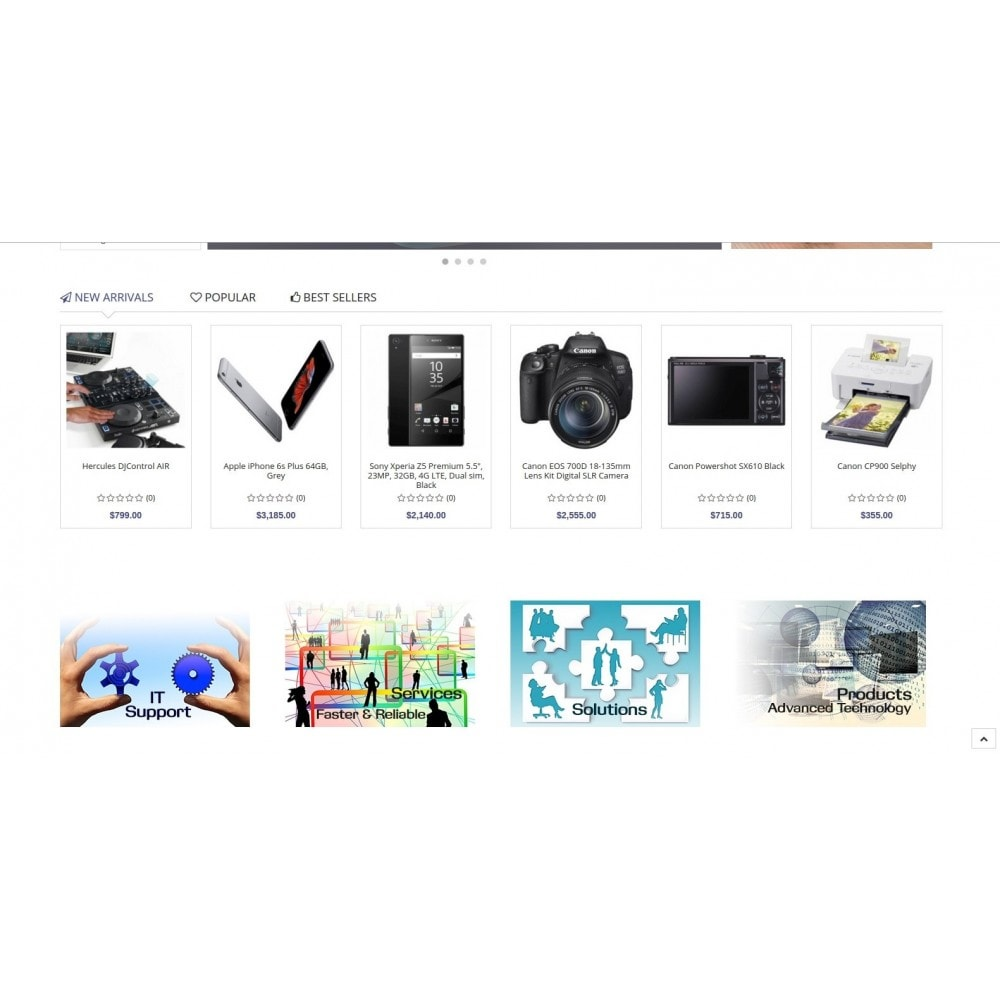 theme - Electronique & High Tech - Eramarket Responsive - 3