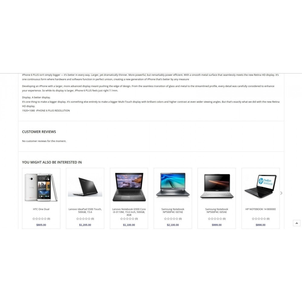 theme - Electronics & Computers - Eramarket Responsive - 9