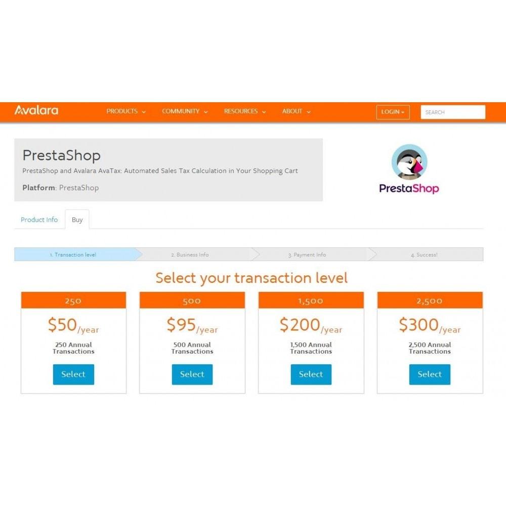 module - Accounting & Invoicing - Avalara - AvaTax - 2