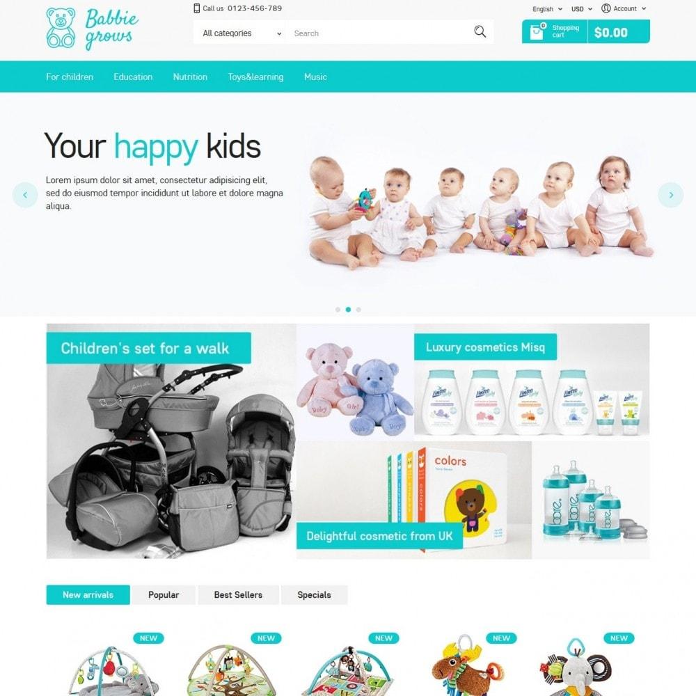 theme - Zabawki & Artykuły dziecięce - Baby Grows 1.6 Responsive - 2