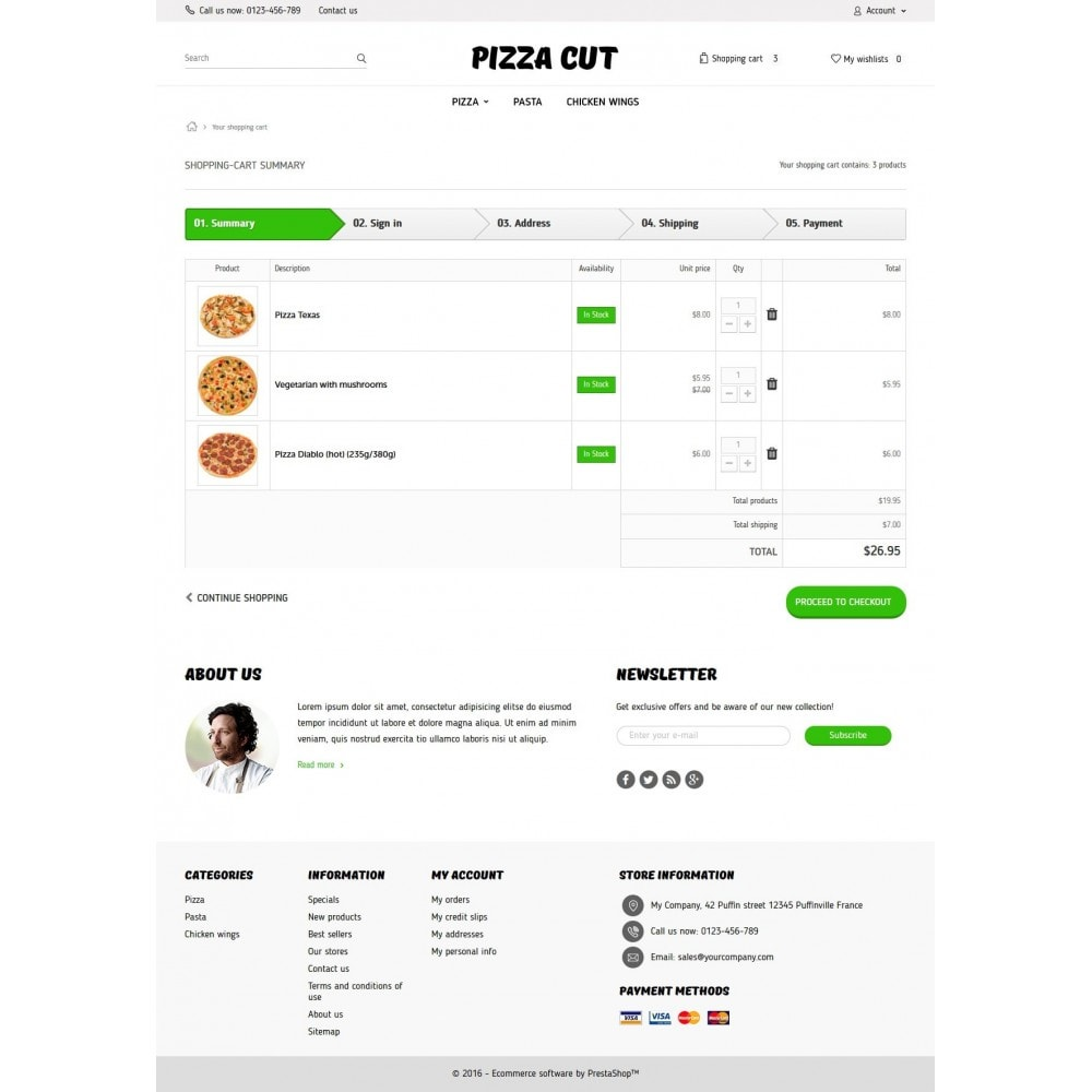 theme - Продовольствие и рестораны - Pizza Cut 1.6 Responsive - 8