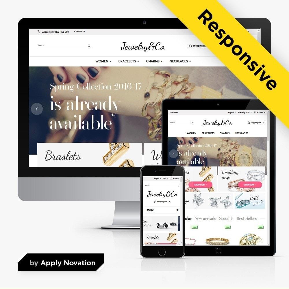 theme - Bellezza & Gioielli - Jewelry&Co 1.6 Responsive - 1