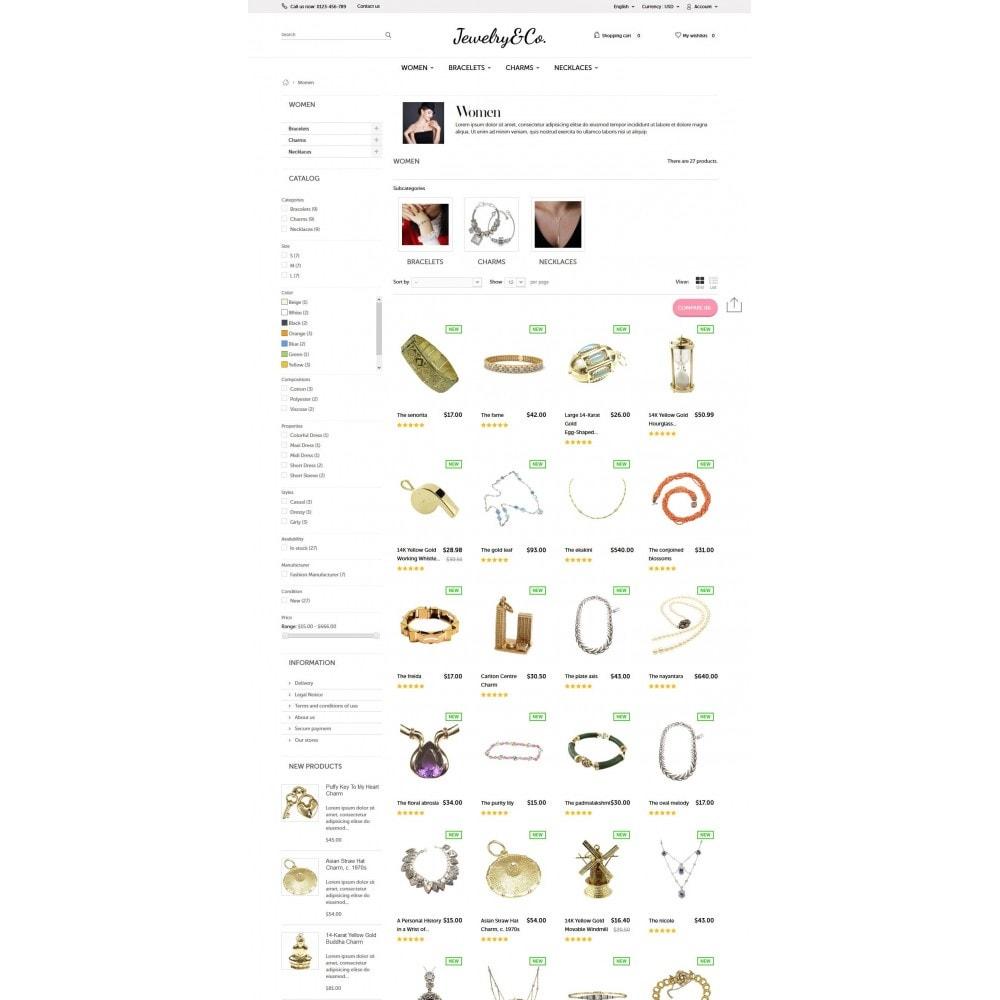 theme - Bijoux & Accessoires - Jewelry&Co 1.6 Responsive - 5