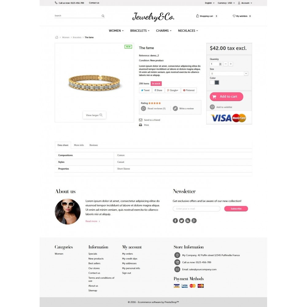 theme - Jewelry & Accessories - Jewelry&Co 1.6 Responsive - 7
