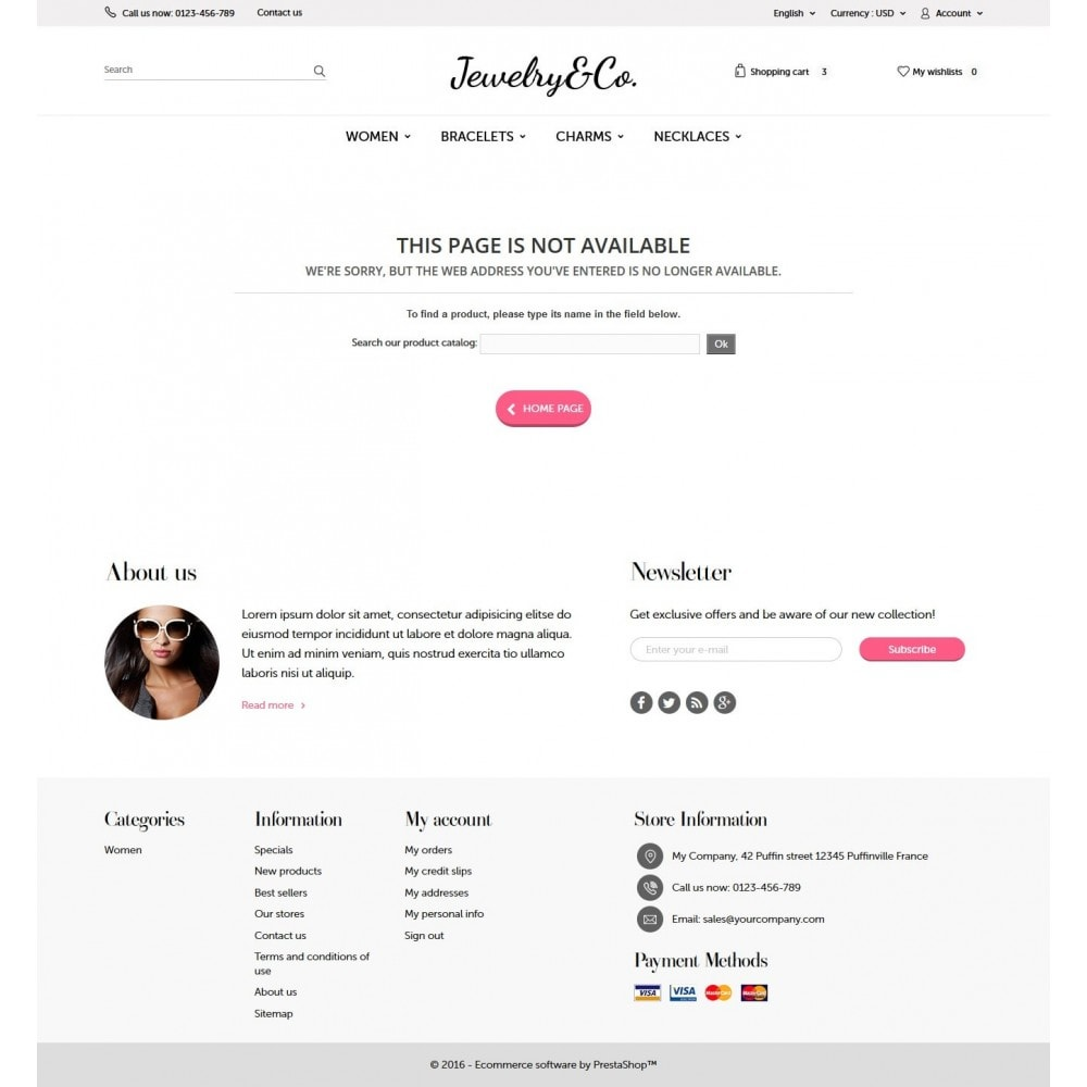 theme - Jewelry & Accessories - Jewelry&Co 1.6 Responsive - 8