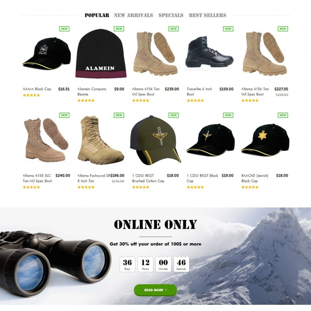 theme - Fashion & Shoes - OutPost 1.6 Responsive - 3